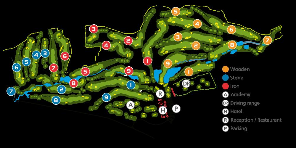 Kaskada-resort-map